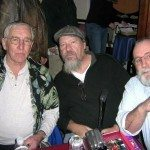 me, Raindog (Lummox Press) and Bill Gainer at Luna's in Sacramento when I went down there to do a reading a few years back…