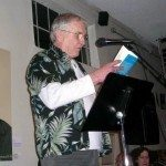 me reading at Luna's …