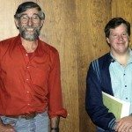 John Bennett & John Stickney, Cleveland, Ohio either 7 or 8 or 9 of October, 1988. Photo by Mark Weber